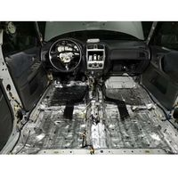 Maty wygłuszające do samochodu, Zestaw materiałów akustycznych do wygłuszenia podłogi