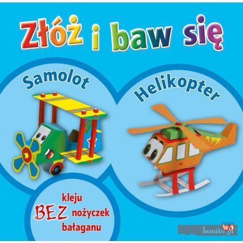 Książki dla dzieci, ZŁÓŻ I BAW SIĘ SAMOLOT HELIKOPTER (opr. kartonowa)