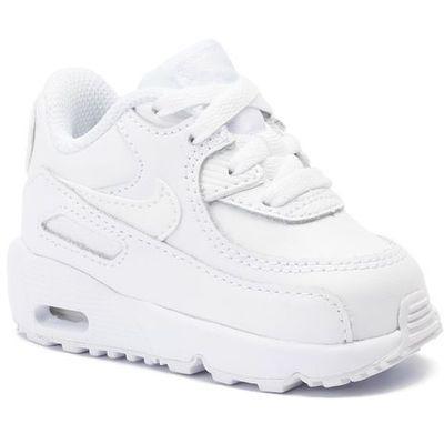 Kup Nike Boys' Air Max 90 Leather (td) Whitewhite Biały