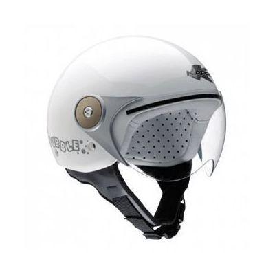 style mody ceny odprawy konkretna oferta hkj02bb910 kask otwarty jet j02 junior biały marki Kappa