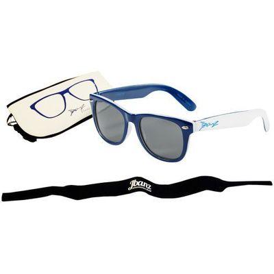 Banz Okulary przeciwsłoneczne dzieci 4 10lat uv400 navywhite