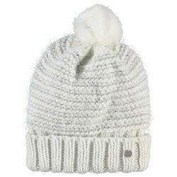 czapka zimowa BENCH - Metallic Interest Turn Up Beanie Snow White (WH11210) rozmiar: OS, kolor biały