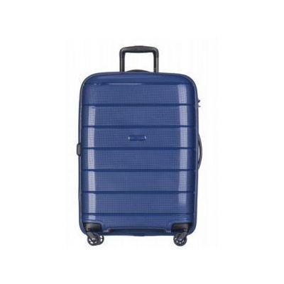 3fedc7ca625dc Puccini walizka średnia twarda z kolekcji madagascar madagaskar pp013 4  koła zamek szyfrowy tsa materiał polipropylen