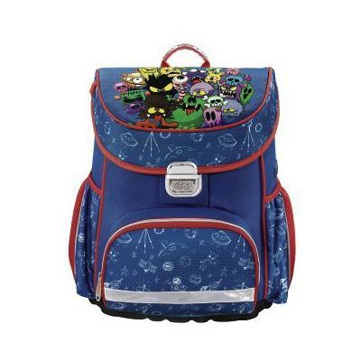 adef9a061fb9d Hama tornister / plecak szkolny dla dzieci / monsters - monsters  (4047443347657)