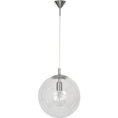 Aldex Lampa wisząca zwis przezroczysta kula globus 1x60w e27 chrom 562g2 >>> rabatujemy do 20% każde zamówienie!!!