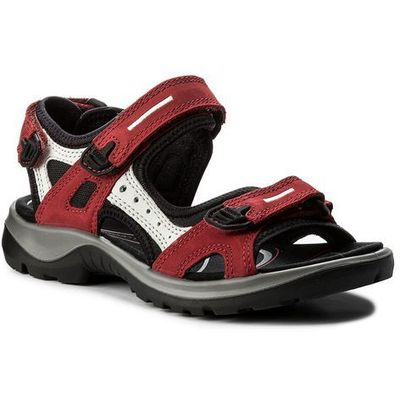 Sandały offroad 6956355287 chili redconcreteblack marki Ecco