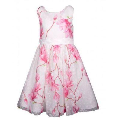 a75e687f Happy girls sukienka dziewczęca 110 biało-różowa (4250076671048)