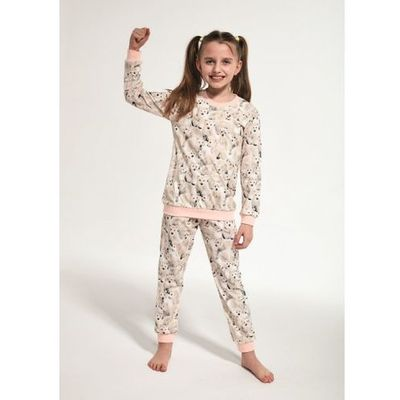4b980b308917ec young girl 033/118 polar bear 134-164 piżama dziewczęca marki Cornette