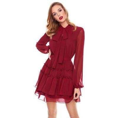 17b0e2d9 Sukienka roma w kolorze bordowym marki Sugarfree