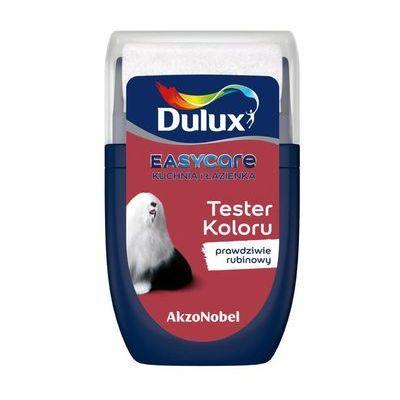 Dulux Tester Farby Easycare Kuchnia I łazienka 30 Ml Prawdziwie Rubinowy