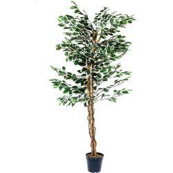 Max Drzewko sztuczne dekoracyjne fikus 160 cm (4048821603136)