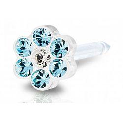 daisy aquamarine / crystal 5 mm marki Blomdahl