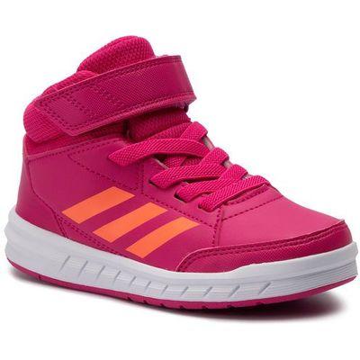 Buty adidas AltaSport Mid K G27121 RemagHirecoFtwwht, kolor r?owy