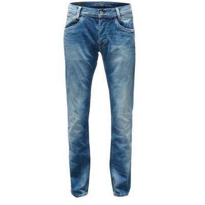 Pepe jeans jeansy 'spike' niebieski denim