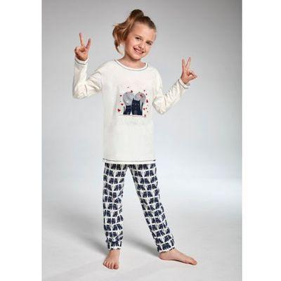 e70f13c6ae23bd kids girl 974/94 two cats piżama dziewczęca marki Cornette