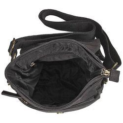 Daag Bawełniana torba na ramię unisex 2jus by zone 2 czarna