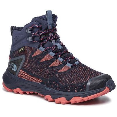 Trekkingi ultra fastpack iii mid gtx (woven) gore tex nf0a3mkvc7w peacoat navyfiesta red marki The north face