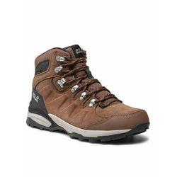 Jack wolfskin trekkingi refugio texapore mid w 4050871 brązowy (4060477909196)