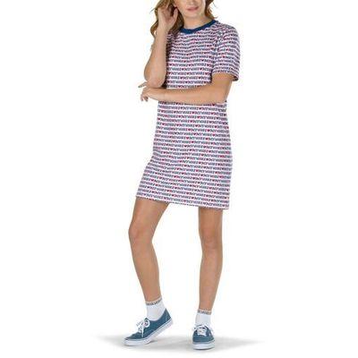 Sukienka my vans dress white vans love (uve) rozmiar: s marki Vans