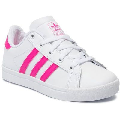 Buty adidas Coast Star C EE7490 FtwwhtShopnkFtwwht, kolor biały